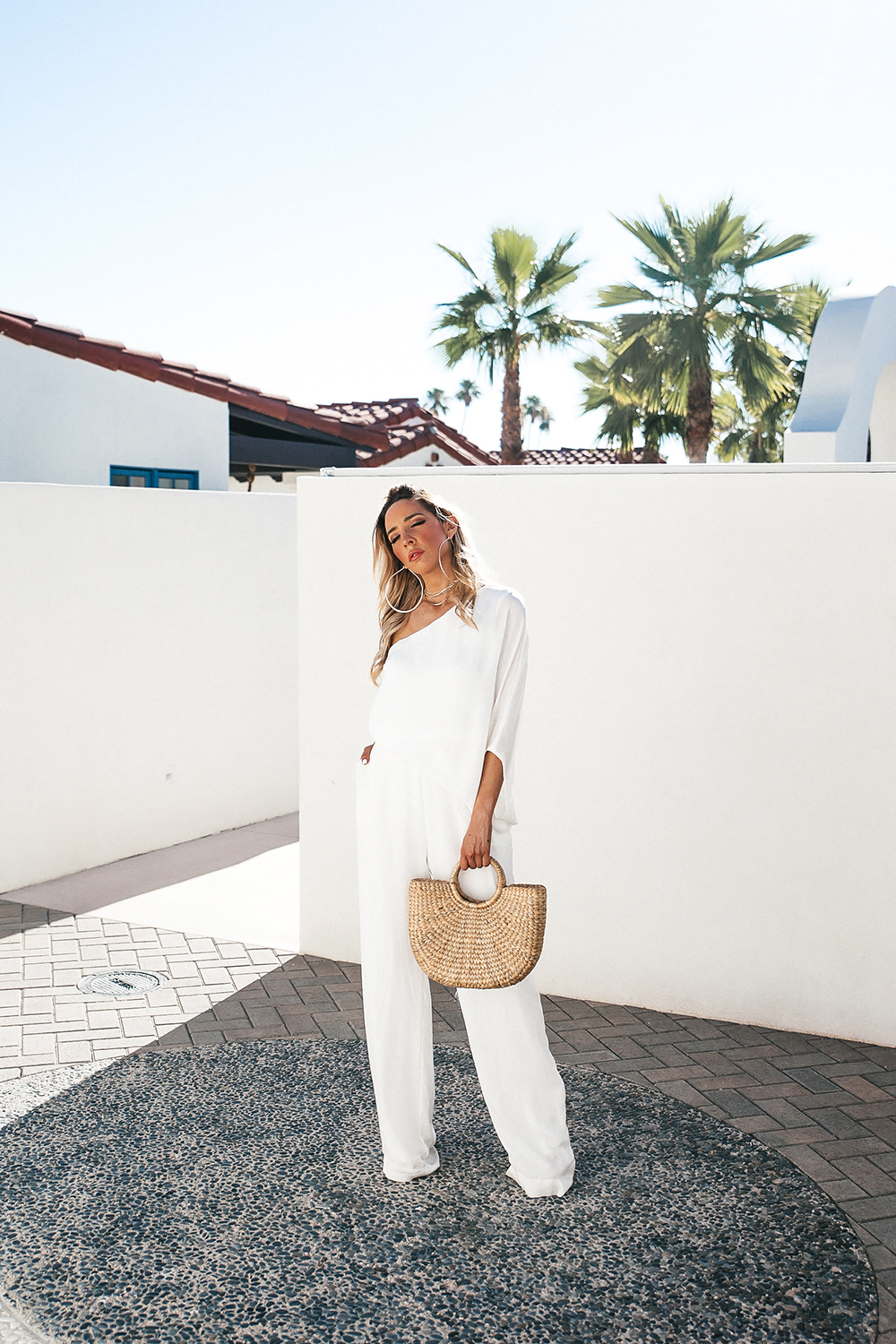 c0c99a1c839 WHAT TO PACK TO A SUMMER VACATION  WIDE LEG WHITE JUMPSUIT